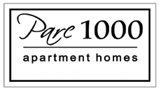 Parc 1000 apartment homes logo